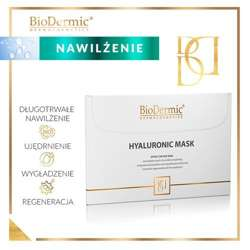 Maska hialuronowa Hyaluronic Mask BIODERMIC 25 ml.